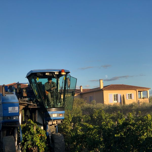 Machine Vendanges Domaine De Givaudan 2020
